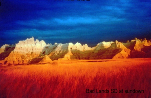 Badlands by Clyde L. Quimby